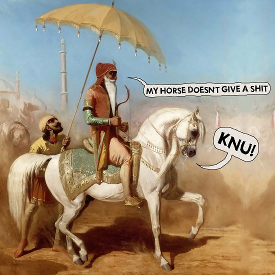 KNU! My Horse doesn't Give a Shit