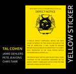 Tal Cohen 4tet: Yellow Sticker